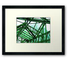 St Johns Precinct Canopy Framed Print