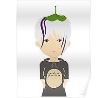 Totoro fan girl Poster