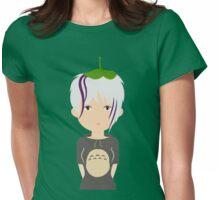 Totoro fan girl Womens Fitted T-Shirt