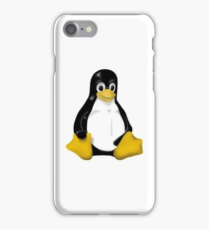 LINUX TUX THE PENGUIN KONTRA SIT iPhone Case/Skin