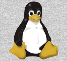 LINUX TUX THE PENGUIN KONTRA SIT One Piece - Long Sleeve