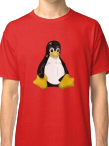 LINUX TUX THE PENGUIN KONTRA SIT Classic T-Shirt