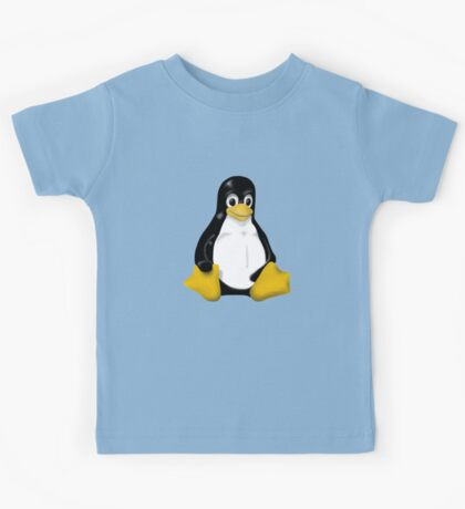 LINUX TUX THE PENGUIN KONTRA SIT Kids Tee