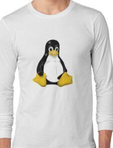 LINUX TUX THE PENGUIN KONTRA SIT Long Sleeve T-Shirt
