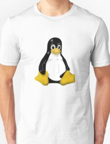 LINUX TUX THE PENGUIN KONTRA SIT Unisex T-Shirt