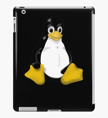 LINUX TUX THE PENGUIN KONTRA SIT iPad Case/Skin