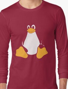TUX LINUX Long Sleeve T-Shirt