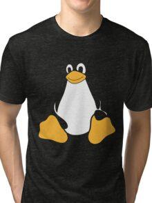 TUX LINUX Tri-blend T-Shirt