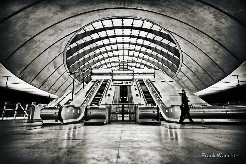 Canary Wharf Tube Station by Frank Waechter