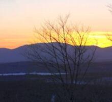 Katahdin Sunset by hkusp40