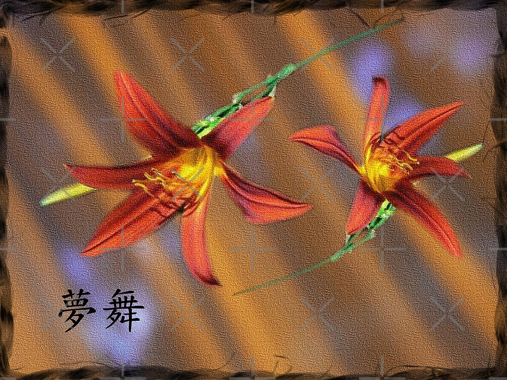 dancing lillies by LisaBeth