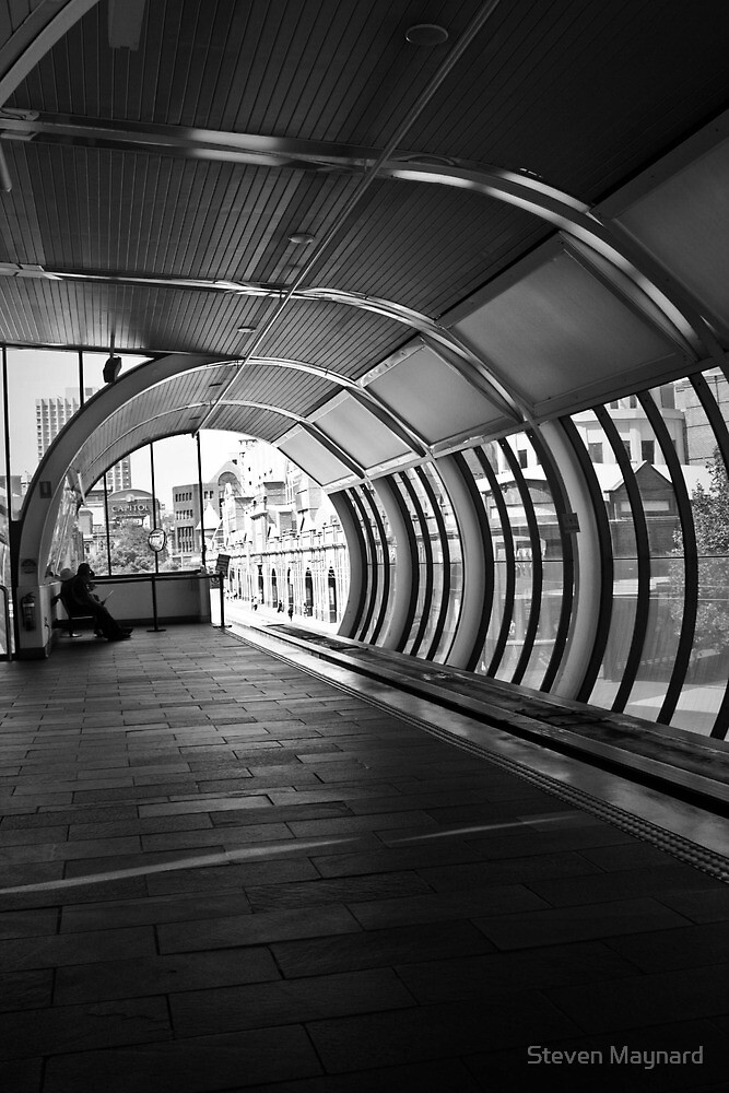 Monorail Station - Market Square, Sydney by Steven Maynard