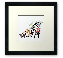 G Plan Classic- The Butterfly Chair Framed Print