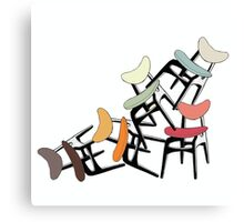 G Plan Classic- The Butterfly Chair Canvas Print
