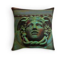 Metallic Elements Throw Pillow