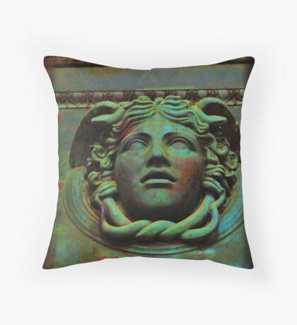 Metallic Elements Throw Pillow