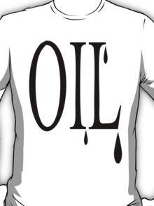 Oil dripping T-Shirt