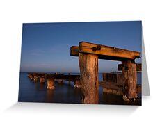 Dawn at Mentone Pier #1 Greeting Card