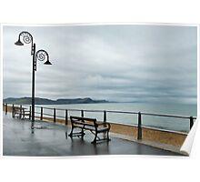 Empty Seats ~ Lyme Regis Poster