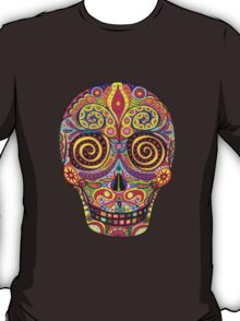 Sugar Skull Day of the Dead shirt T-Shirt