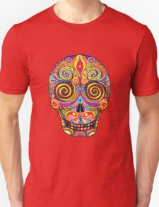 Sugar Skull Day of the Dead shirt Unisex T-Shirt