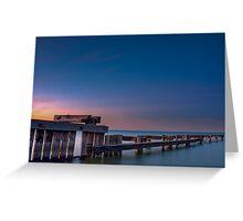 Dawn at Mentone Pier #2 Greeting Card