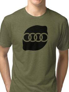 Audi Lemon Car - Black Tri-blend T-Shirt