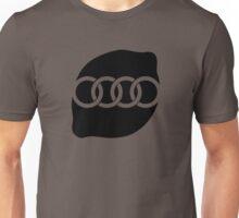 Audi Lemon Car - Black Unisex T-Shirt