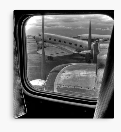 Scene from the Golden Age of Flight Canvas Print