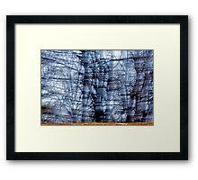 Visible Wind Framed Print