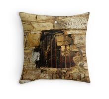 Metalwork & Masonry Throw Pillow