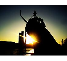Clydeside Sunset Photographic Print
