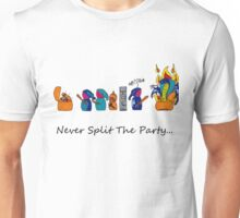 Never Split the Party Unisex T-Shirt