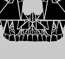 Geometric Skull by Kendall Hammond
