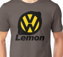 VW Lemon Car - Black Unisex T-Shirt