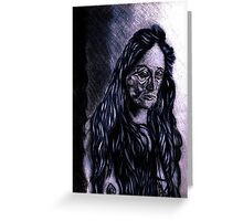 Depression, Obsession, Possession  Greeting Card