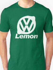 VW Lemon Car - White T-Shirt