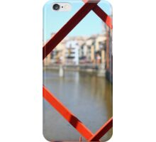 red bridge Steel structure  iPhone Case/Skin