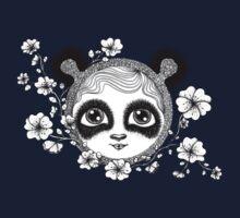 She's got panda eyes Kids Tee