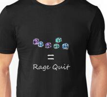 Rage Quit - Dark T's  Unisex T-Shirt