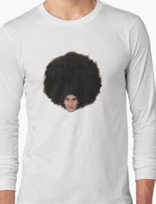 The Epic Afro of Marouane Fellaini Long Sleeve T-Shirt