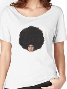 The Epic Afro of Marouane Fellaini Women's Relaxed Fit T-Shirt