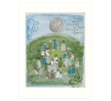 Beautiful Mosaic by Zoe Art Print