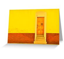 Four Steps Up Greeting Card
