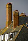 Tall chimneys by Ian Ker