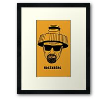 Hosenberg. The real man, just wetter. Framed Print