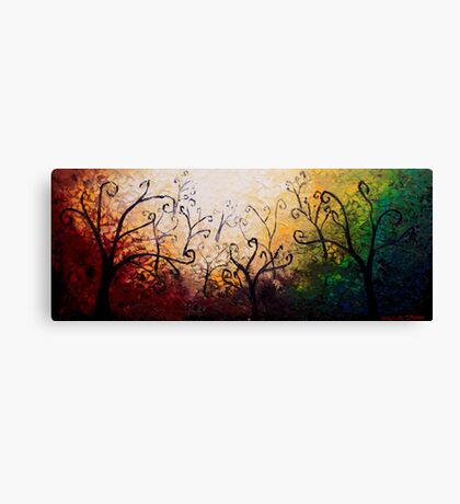 The Forest Curls Canvas Print
