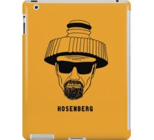 Hosenberg. The real man, just wetter. iPad Case/Skin