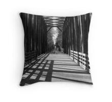 """Old Railroad Trestle"" Throw Pillow"