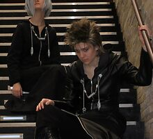 Zexion and Demyx by LibraryDrone